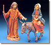 5 Inch Scale Journey to Bethlehem by Fontanini