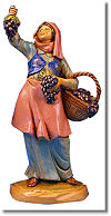 5 Inch Scale Carmi Vineyard Worker by Fontanini