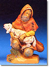 5 Inch Scale Jeremiah the Shepherd by Fontanini
