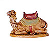 7.5 Inch Scale Seated Camel with Blanket and Saddle by Fontanini