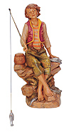 12 Inch Scale Jacob the Fisherman by Fontanini