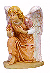 27 Inch Scale Kneeling Angel by Fontanini