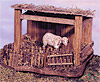 5 Inch Scale Sheep Shelter by Fontanini
