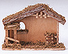 5 Inch Scale Fontanini Wood Nativity Stable by Fontanini