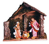 12 Inch Scale Nativity Stable - Figures Not Included by Fontanini