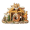 Fontanini  Musical Nativity Stable with Town