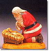 4 Inch High Santa Figure by Fontanini