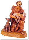 5 Inch Scale St. Francis of Assisi by Fontanini