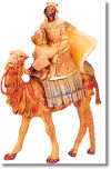 5 Inch Scale Balthazar on Camel by Fontanini