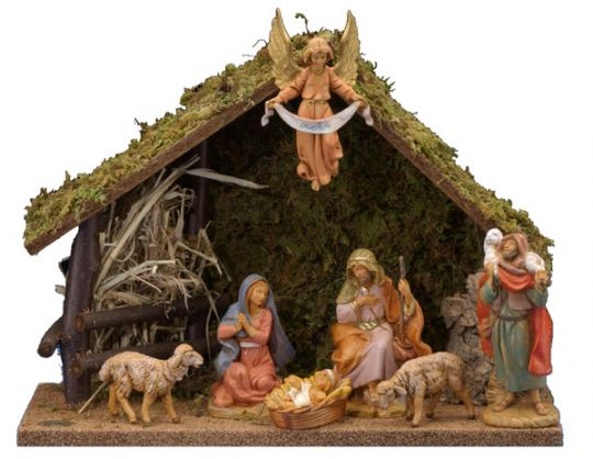 5 inch scale 7 piece nativity set by fontanini out of stock october